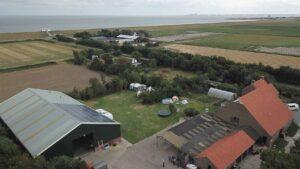 Kampeerveld 1 luchtfoto