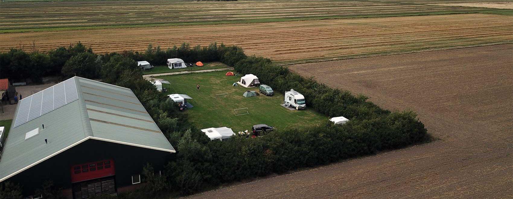 Kampeerveld 2 luchtfoto